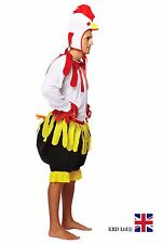 ADULT CHICKEN Fancy Dress Costume Hen Stag Party Outfit Halloween UK
