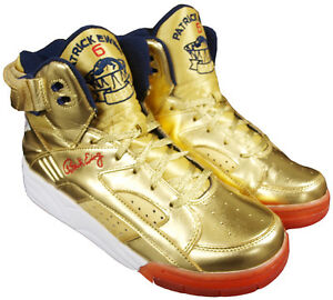Ewing Athletics Eclipse Gold Navy Red Basketball Schuhe Shoes olympic edition