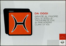 cartolina pubblicitaria PROMOCARD n.4039 NISSAN AUTOMOBILE MILANO