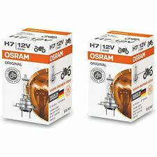 OSRAM H7 HALOGEN HEADLIGHT GLOBES 12V 55W PX26d 64210 GERMAN Product