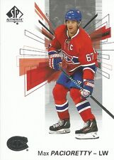 Max Pacioretty #67 - 2016-17 SP Authentic - Base
