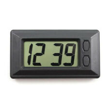 Time and Date LCD Screen Digital Display Clock with Calendar for Car Dashboard