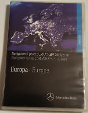 Mercedes NTG2 2018 v19 DVD Comand APS Europa A/B/C/CLK/g + V12 mise à niveau du micrologiciel