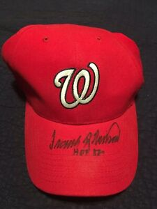 Frank Robinson Autograph Washington National Baseball Hat