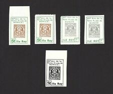 Ile Roy Fantasies Stamp on Stamp MUNICH STADT POST 5v incl ESSAY MNH ex Jim Czyl