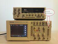 Tektronix  Oscilloscope tds2012 100 MHz, 2 Channel  +  EZ FG-70005c generator