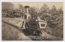 OLD PEPPERSASS - COG RAILWAY ENGINE - COOS COUNTY - NEW HAMPSHIRE - USA - RP
