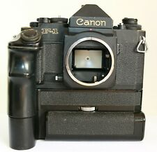 NUOVO Canon F1 F-1 Fotocamera SLR AE Motor Drive FN Battery Pack Eye Level Finder