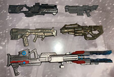 1:12 Scale Weapons Rifles And Rail gun For 6' MARVEL LEGENDS GI JOE CLASSIFIEDS