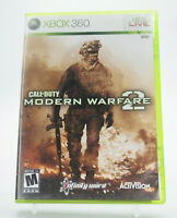 Call of Duty Modern Warfare 2 Xbox 360 Game W/Manual Tested Free Shipping