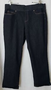 LANDS END Jeans Jegging Pull on 2X Stretch Women Plus Size 22 W