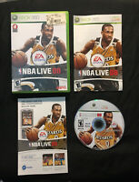 NBA Live 08 —Complete With Manual! Fast Shipping! (Microsoft Xbox 360, 2007)