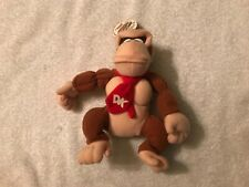 New listing 1997 Donkey Kong Plush Toy Bd&A Nintendo 64 Collectibles W/ Tag