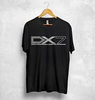 Yamaha DX7 T Shirt Top Music Digital Programmable Algorithm Synthesizer Geek