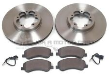 FORD TRANSIT 280 300 330 350 06-13 FRONT BRAKE DISCS & PADS 300MM CHECK SIZE