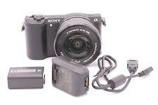 Sony Alpha a5100 24.3 MP Digital SLR Camera - Black (Kit w/ E OSS 16-50mm Lens)