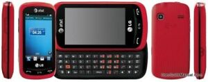 LG Xpression Unlocked C395 / C395- Red / Blue (AT&T) Cellular Phone Must Read