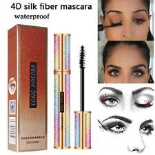 4D Silk Fiber Eyelashes Lash Mascara Waterproof Long Lasting Cils Extension Make