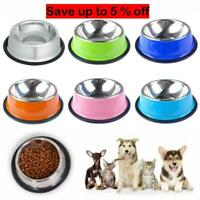 Stainless Steel /Collapsible Pet Bowl Water Food Dish Dog Cat Puppy Feeder AU