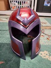 Custom 1:1 Lifesize X-Men Evolution Magneto Helmet Costume Cosplay Prop Marvel
