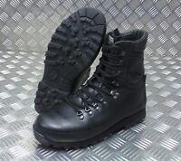 Genuine British Army Alt-Berg Combat Leather Assault / Patrol Combat Boots BLK