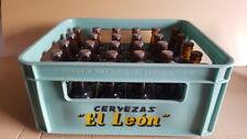 CERVEZAS EL LEON Caja completa 30 BOTELLINES Juan y Teodoro Kutz SAN SEBASTIAN
