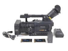 Panasonic AG-HVX200 3CCD HD P2 Camcorder HVX 200 - 324 Hours