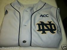 NOTRE DAME GAME USED BASEBALL JERSEY #28