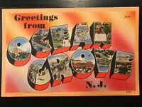 Vintage Postcard>1930-1945>Greetings from Ocean Grove>New Jersey