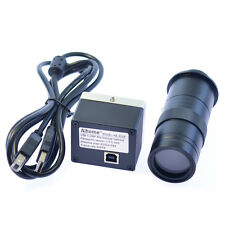 NEW 5.0MP HD Digital C-mount Microscope Camera USB Output with 100x zoom lens