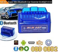 MINI ELM 327 OBD2 DIAGNOSI AUTO INTERFACCIA OBDII ANDROID BLUETOOTH V2.1 CANBUS