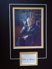 HAROLD WILSON - FORMER LABOUR PRIME MINISTER - SUPERB SIGNED PHOTO DISPLAY