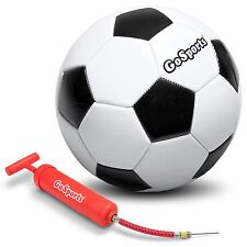 GoSports Classic Soccerball - Size 3 - with Premium Pump