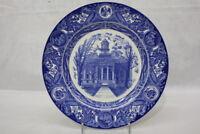 "Vintage 1956 Wedgwood UNIVERSITY OF IOWA Blue OLD CAPITOL 10.5"" Dinner Plate"