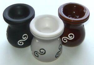 Ceramic Burner with Swirl Design for Fragrance Oils etc (Offer 4 for 3)