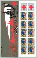 TIMBRES DE FRANCE  CARNET CROIX ROUGE ANNEE 1987 YV N° 2036 ** NON PLIE