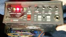 Federal signal Touchmaster Siren and Lights Controller - used works
