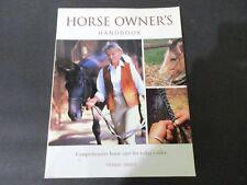 Horse Owners Handbook Penny Swift PB 2003