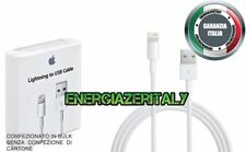 Cavo DATI Originale Apple Lightning Usb Per iPhone 5 5s 6 6plus 7 8 X iPad  BULK