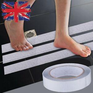 5M Anti Slip Bath Grip Non Slip Shower Safe Strips Pad Floor Tape Waterproof UK