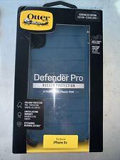 New! Blue Genuine Original OtterBox Defender Pro iPhone XR Screenless 77-59793