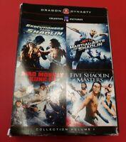 Dragon Dynasty Collection, Vol. 1 (DVD, 2011, 4-Disc Set)