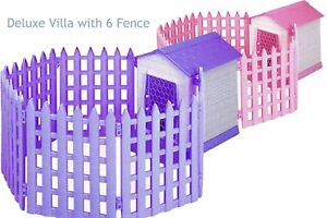 Pets kennel house : Deluxe Villa with 6 Fences ( Aussie stock !! )