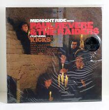 PAUL REVERE & THE RAIDERS Midnight Ride 180-gram BLUE COLORED VINYL LP Sealed