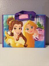 2017 Disney Princess Tri Fold Storage Case snow white belle Cinderella Ariel