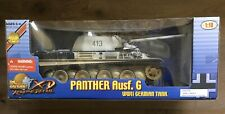 Ultimate Soldier 10122 German Panzer Winter Camo Panther Tank & 2 Crew 1/18 New