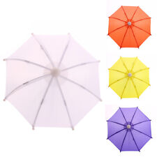 Mini Solid Color Beads Girls Doll Accessory Rain Umbrella Play Toy Kids Surprise