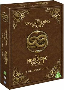 The NEVERENDING STORY 1 & 2 FILM COLLECTION DVD BOXSET NEW & SEALED