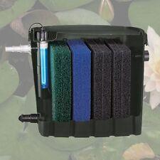NEW Fish / Koi Pond External Filter with a 9 watt UV Clarifier 1060GPH FREE S&H!