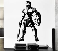 Wall Decal Warrior Ancient Rome Weapons Sword Gladiator Vinyl Sticker (ed179)